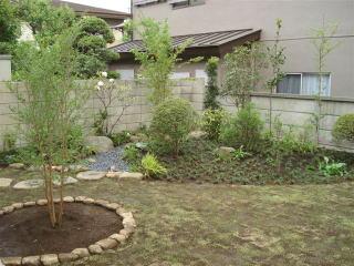個人邸造園工事